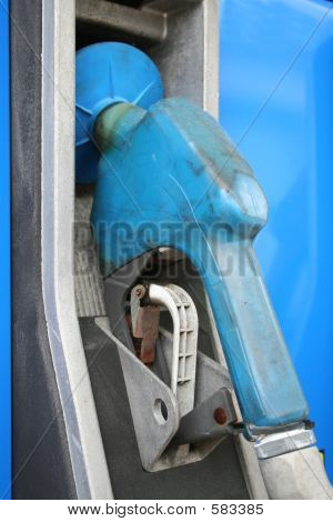 Blue Gas Pump