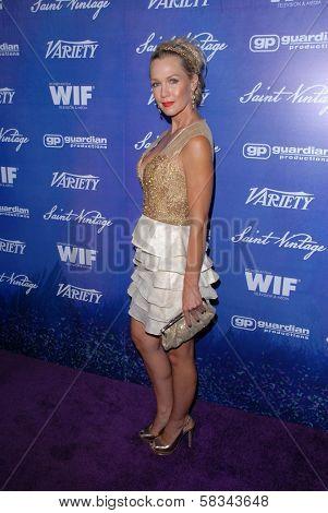 Jennie Garth at the Variety and Women In Film Pre-Emmy Event, Scarpetta, Beverly Hills, CA 09-21-12