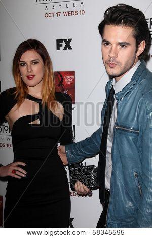 Rumer Willis, Jayson Blair at the Premiere Screening of FX's
