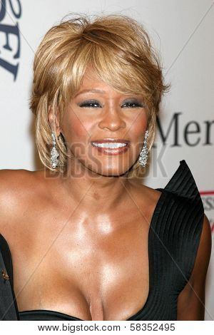 Whitney Houston at the 17th Carousel of Hope Ball to benefit The Barbara Davis Center for Childhood Diabetes. Beverly Hilton Hotel, Beverly Hills, CA. 10-28-06