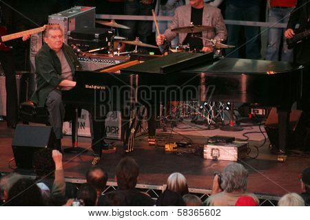 Jerry Lee Lewis at the Jerry Lee Lewis in-store appearance and performance. Virgin Megastore, Hollywood, CA. 10-12-06