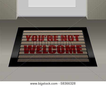 Doormat Not Welcome