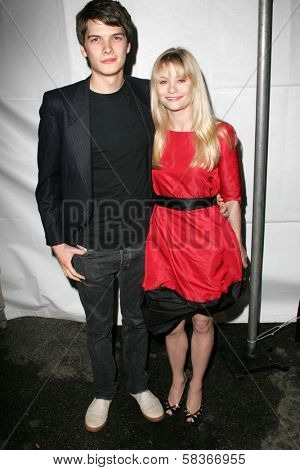 Josh Janowicz and Emilie de Ravin at the Gen Art 9th Annual Fresh Faces in Fashion event, Barker Hanger, Santa Monica, CA 10-13-06