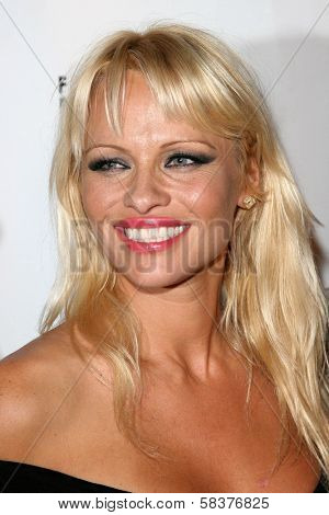 Pamela Anderson at the DVD Release of