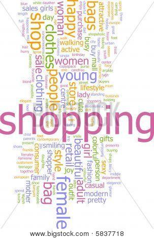 Shopping Word Cloud