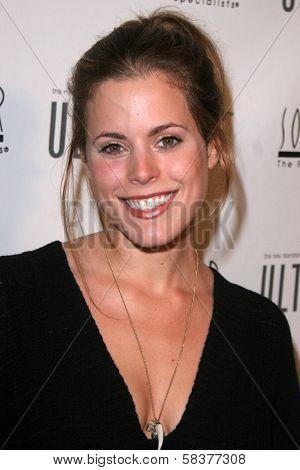 Erin Cardillo at the Sonya Dakar Skin Clinic Opening. Sonya Dakar SKin Clinic, Beverly Hills, CA. 10-24-06