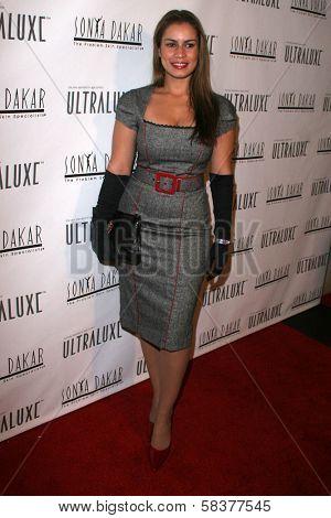 Christine Carlo at the Sonya Dakar Skin Clinic Opening. Sonya Dakar SKin Clinic, Beverly Hills, CA. 10-24-06