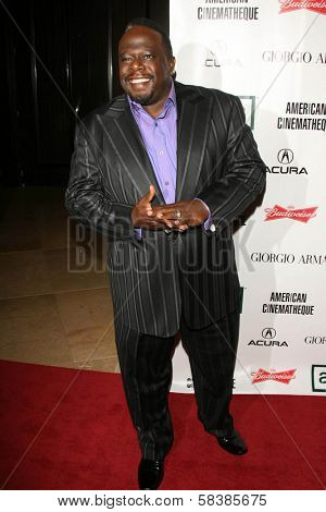 Cedric The Entertainer at the 21st Annual American Cinematheque Award Honoring George Clooney. Beverly Hilton Hotel, Beverly Hills, CA. 10-13-06