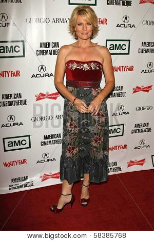 Jann Carl at the 21st Annual American Cinematheque Award Honoring George Clooney. Beverly Hilton Hotel, Beverly Hills, CA. 10-13-06
