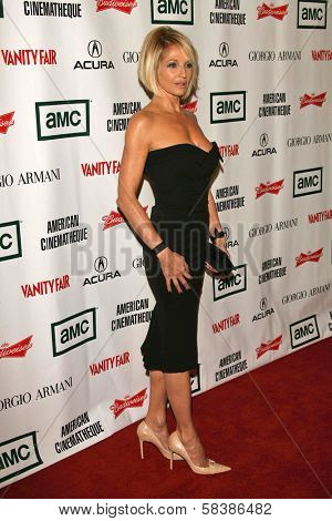 Ellen Barkin at the 21st Annual American Cinematheque Award Honoring George Clooney. Beverly Hilton Hotel, Beverly Hills, CA. 10-13-06