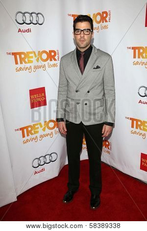 Zachary Quinto at the 2012 Trevor Project Live, Palladium, Hollywood, CA 12-02-12
