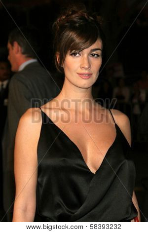 WESTWOOD, CA - NOVEMBER 05: Paz Vega at a Special Presentation of