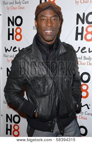 Isaiah Washington at the NOH8 Campaign 4th Anniversary Celebration, Avalon, Hollywood, 12-12-12