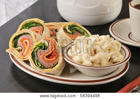 Italian Wrap Sandwich