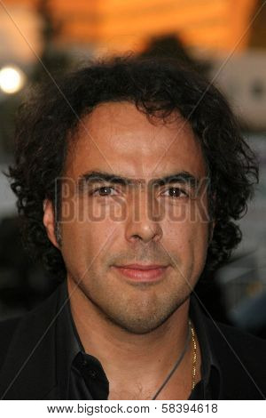 WESTWOOD, CA - NOVEMBER 05: Alejandro Gonzalez Inarritu at a Special Presentation of
