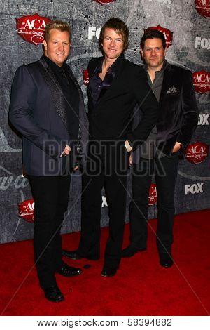 Rascal Flatts at the 2012 American Country Awards, Mandalay Bay, Las Vegas, NV 12-10-12