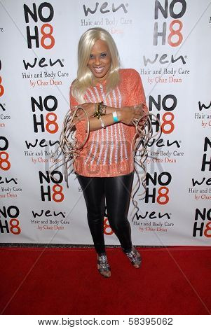 Chris Walton aka, The Duthchess at the NOH8 Campaign 4th Anniversary Celebration, Avalon, Hollywood, 12-12-12