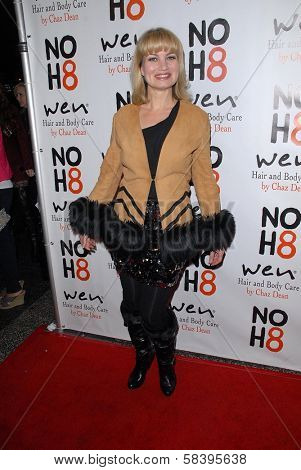 Rena Riffel at the NOH8 Campaign 4th Anniversary Celebration, Avalon, Hollywood, 12-12-12