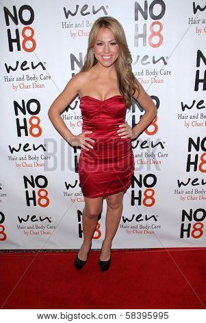 Jessica Hall at the NOH8 Campaign 4th Anniversary Celebration, Avalon, Hollywood, 12-12-12