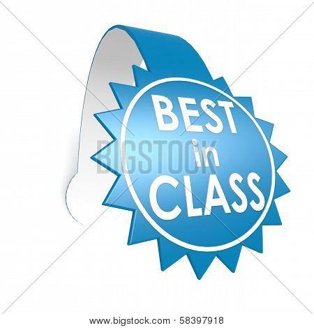 Best In Class Star Label
