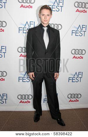 LOS ANGELES - NOVEMBER 4: Samuel Barnett at the AFI Fest 2006 Screening of