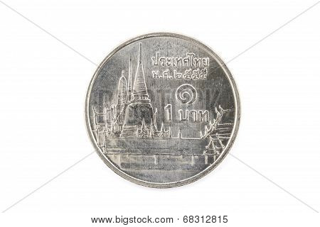 One Baht Coins, Coin Of Thailand