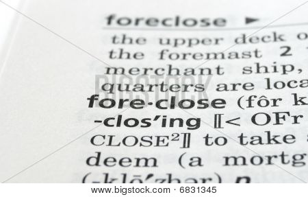 Foreclose Defined