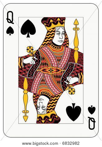Queen of spade