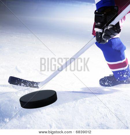 ice hockey goal