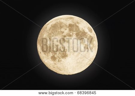 Moon At It Largest Also Called Supermoon