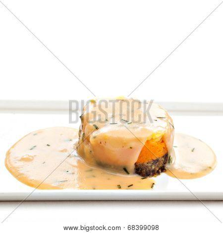 Traditional Scottish Haggis Dish