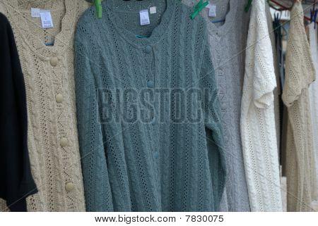 Hand made sweaters