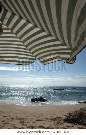 Umbrella on the beach