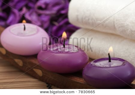 Purple Spa Relaxation