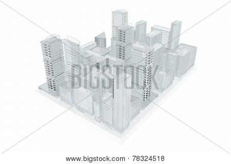 Future City.  Urban Planning
