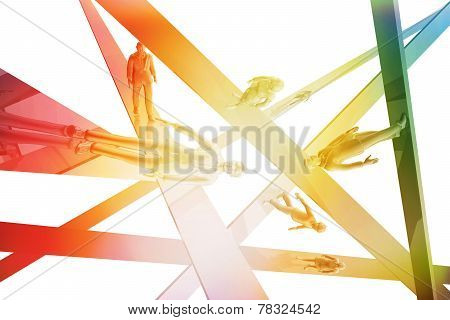 Businesspeople Abstract Concept