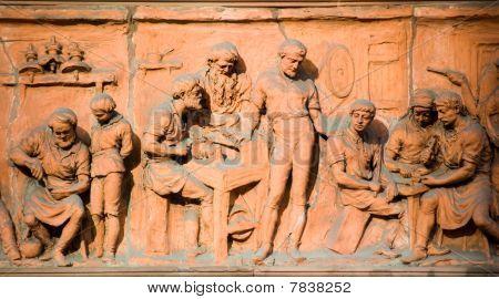 Metal workers in Terracota