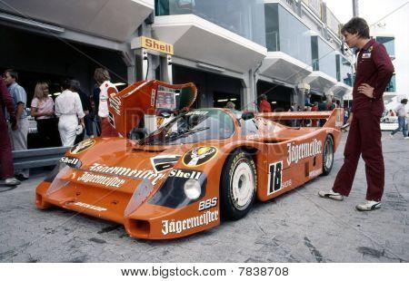 Porsche 956 Brun Racing Nurburgring 1985