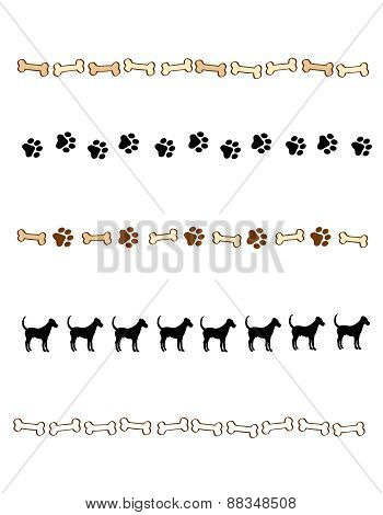 Dog Theme Page Divider