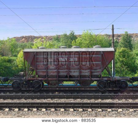 Cement Wagon 1