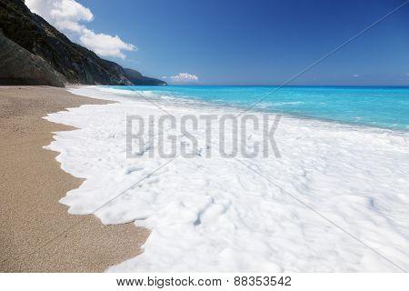 Egremni beach, Lefkada ,Greece