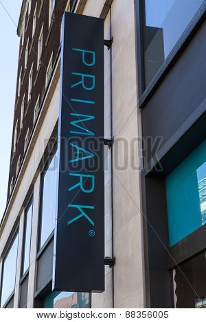 Primark Clothing Store In London