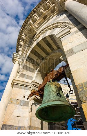 Bell Of Leaning Tower In Pisa