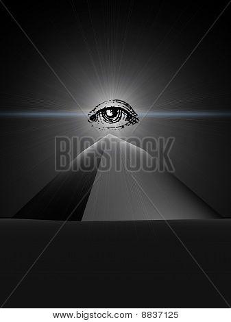 black  pyramid of providence