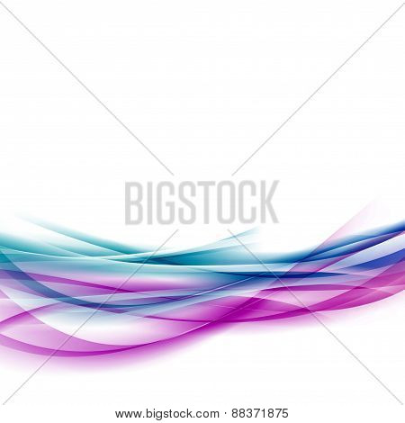 Line Abstract Fusion Swoosh Background