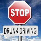 no drunk driving don't drink and drive with an alcohol intoxication. stop irresponsible driver. poster