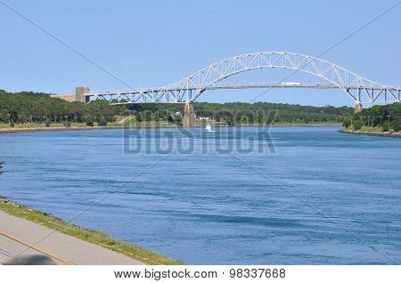 Sagamore Bridge across the Cape Cod Canal