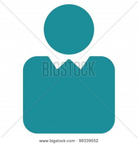 Client icon from Business Bicolor Set