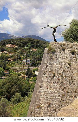 Saint Paul De Vence, Provence, France.