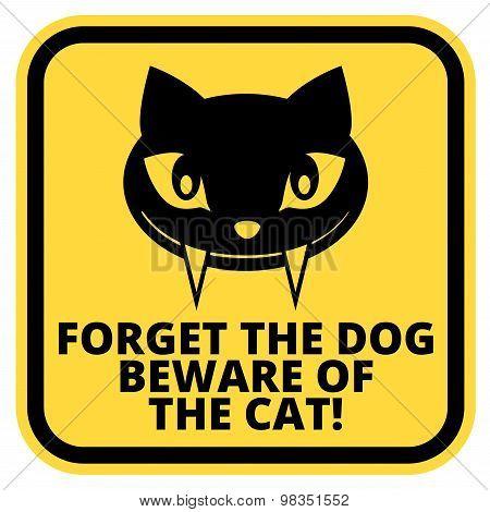 Cat sign